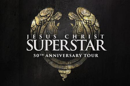 Jesus Christ Superstar 50th Anniversary Tour Logo